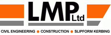 LMP Ltd., Civil Engineering, Slipform Kerbing & Construction